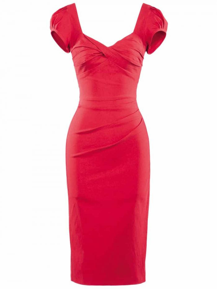 Stop-Staring-Billion-Dollar-Baby-Dress-in-Red-Cut-Out