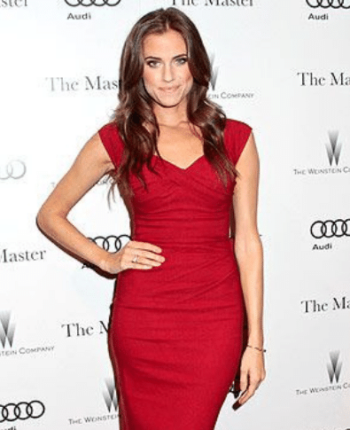 Stop Staring Love Dress Red Allison Williams