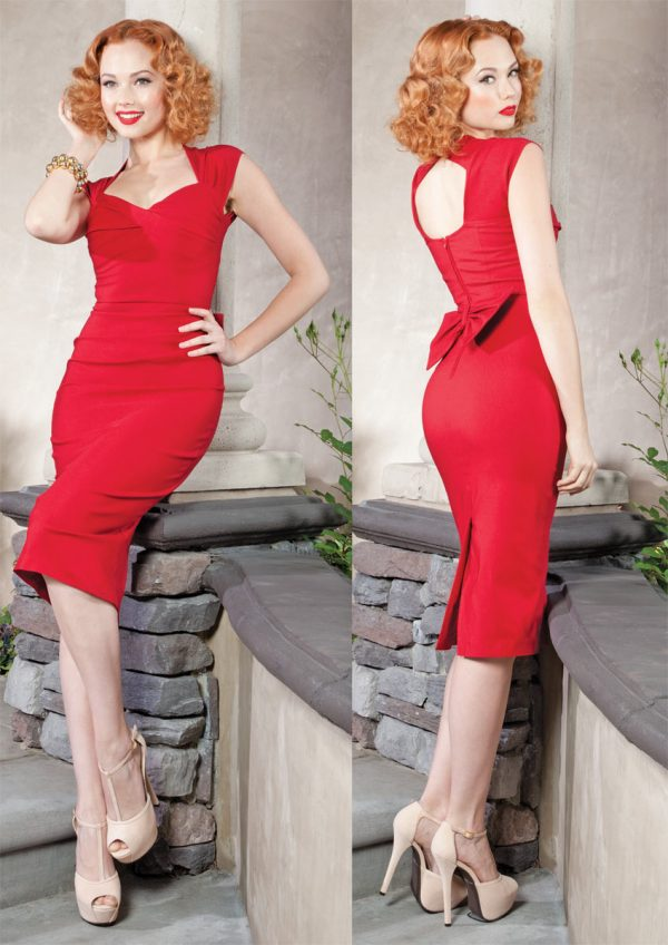 Stop-Staring-Love-Dress-in-Red-Main-Image