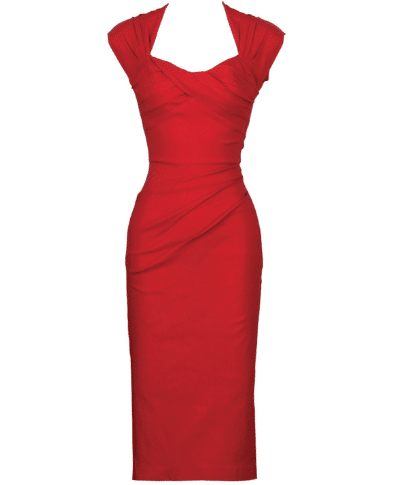 Stop Staring Love Dress in Red 2