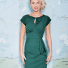 Stop Staring Timeless Dress in Forest Green 2