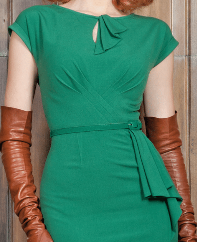 Stop Staring Timeless Dress in Green 1
