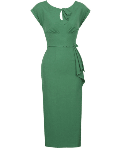 Stop Staring Timeless Dress in Green 3