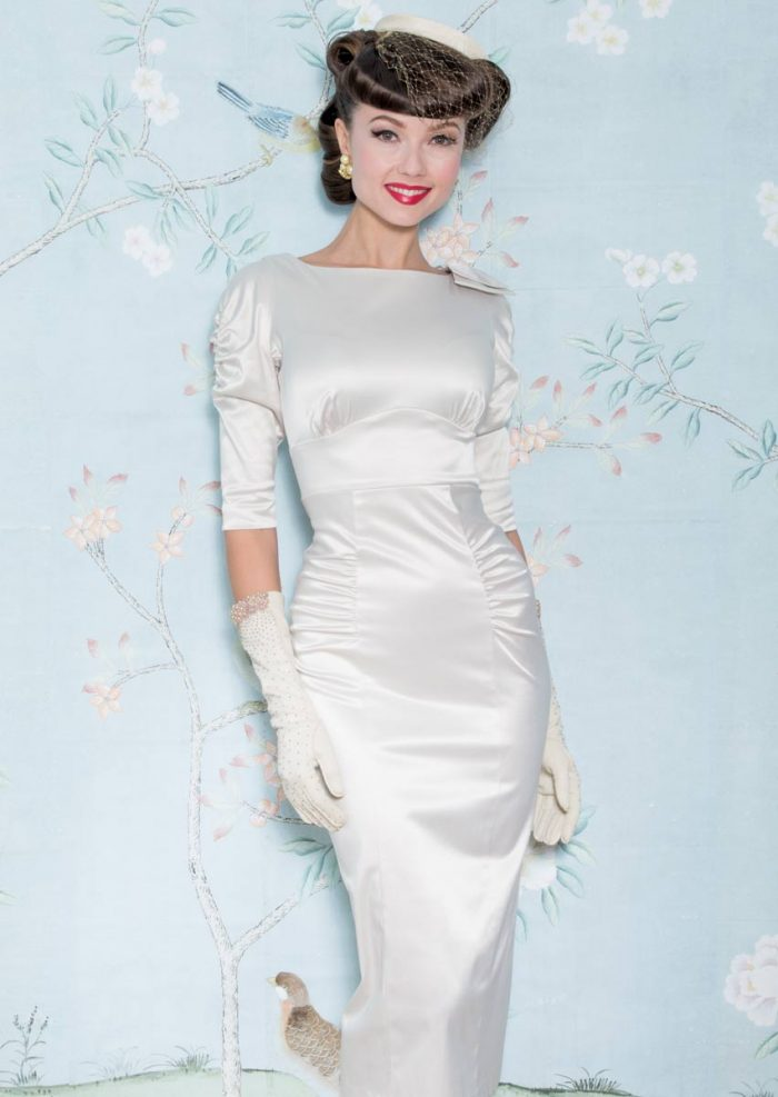 Stop-Staring-Casablanca-Dress-Ivory-Satin