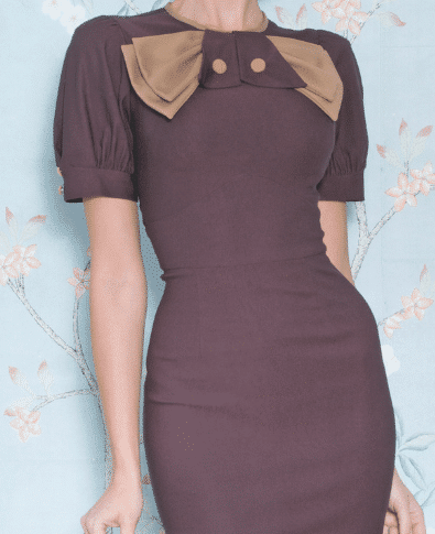 Stop Staring Penny Dress on Model