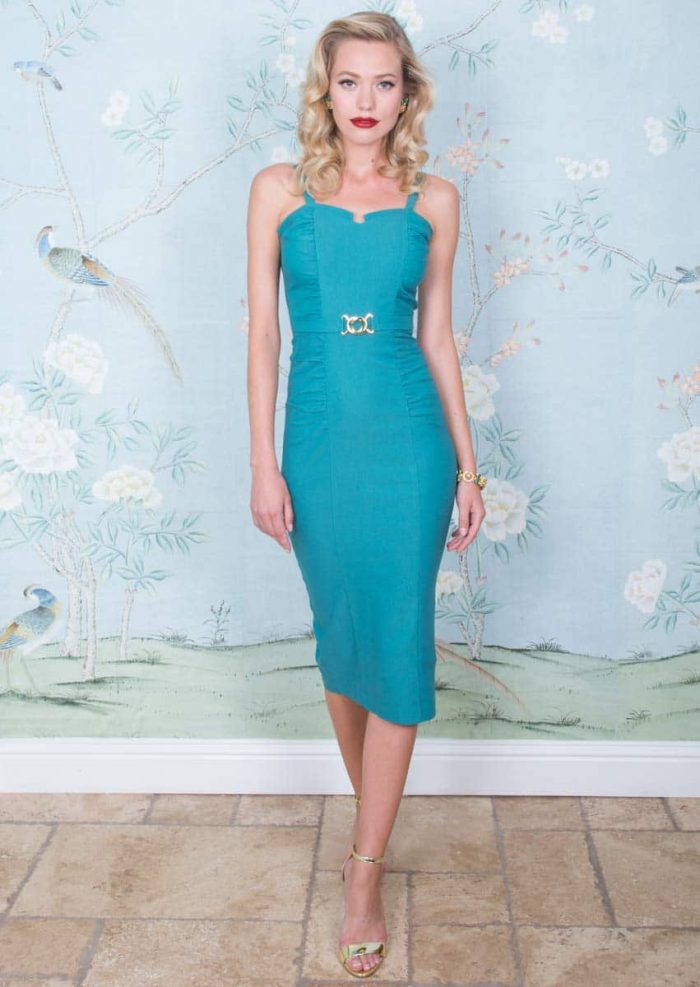 Stop Staring Petra Dress Light Aqua