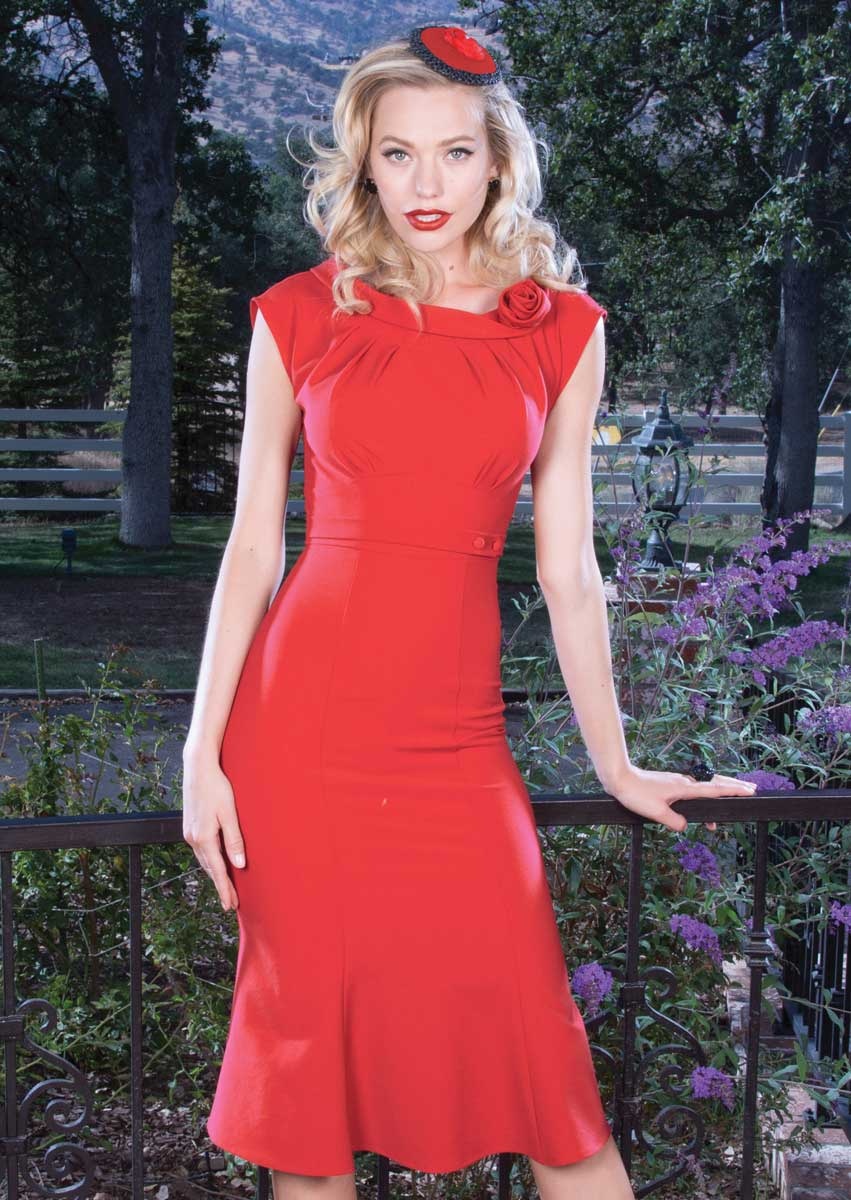 Stop-Staring-Vacant-Dress-Red
