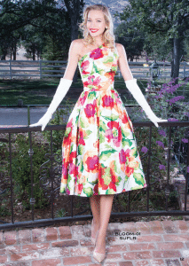 Stop Staring Bloom Floral Swing Dress