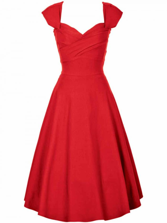 Stop-Staring-Madstyle-Swing-Dress-in-Red