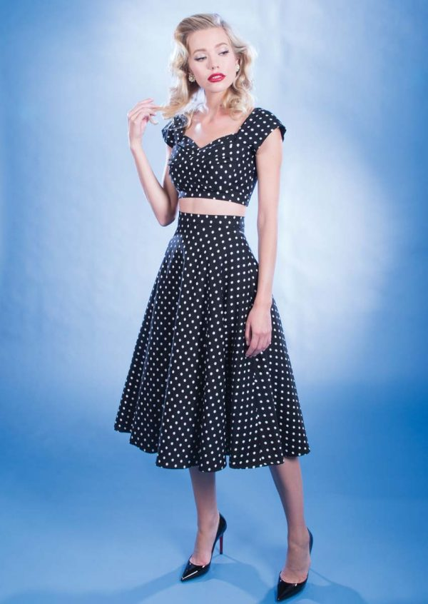 Stop Staring Two Piece Polka Dots