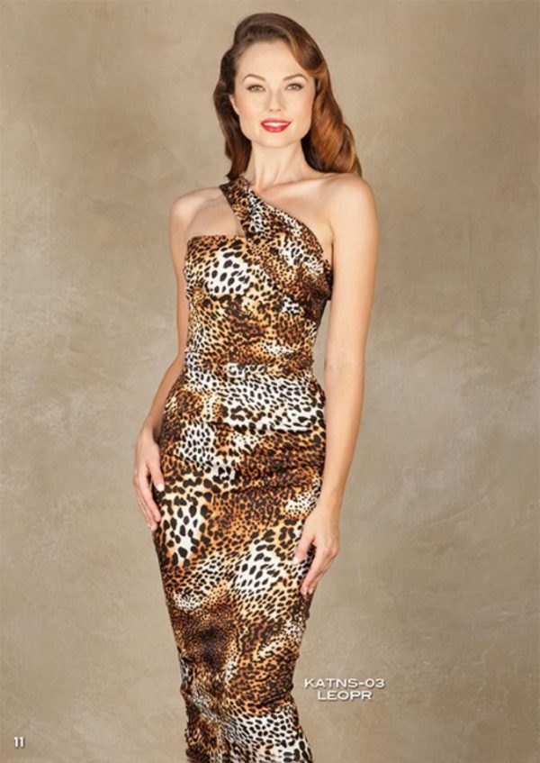 Stop Staring Katnis Dress Leopard