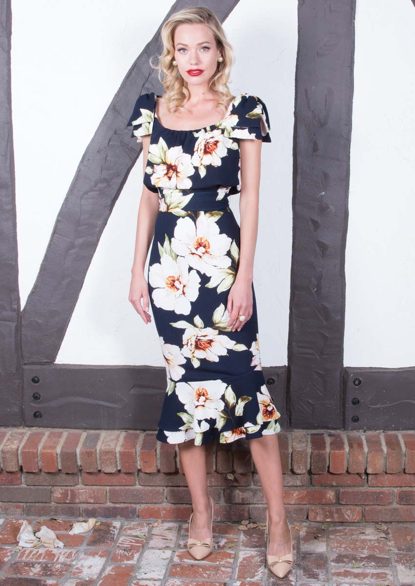 Stop Staring Alora Floral Dress