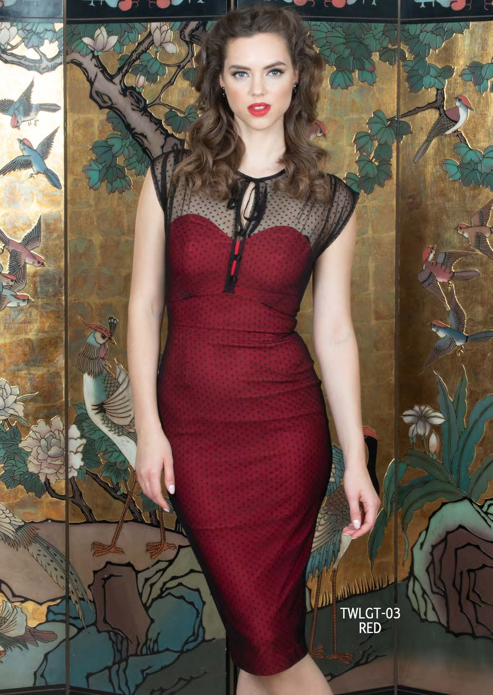 Stop Staring Twilight Dress in Red