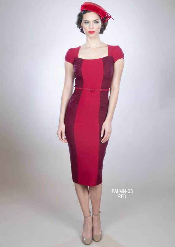 Stop Staring Paloma Dress in Red
