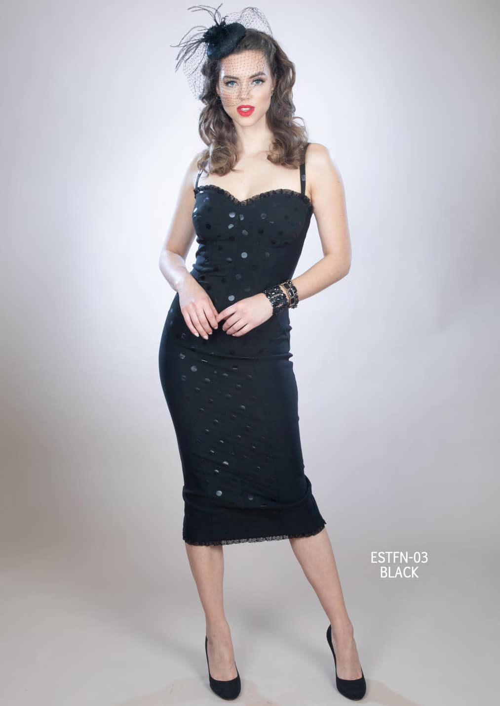 Stop Staring Estefania Dress Black