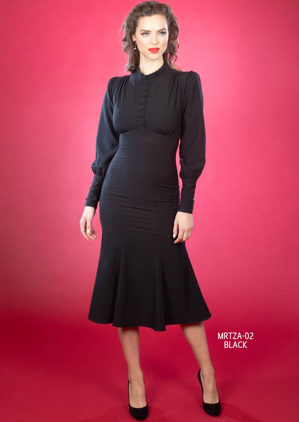 Stop Staring Maritza Dress in Black