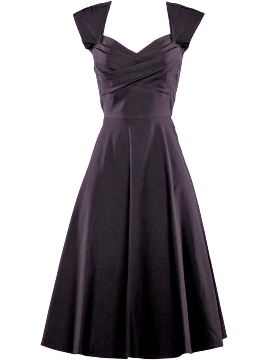 Stop-Staring-Mad-Style-Swing-Dress-in-Black