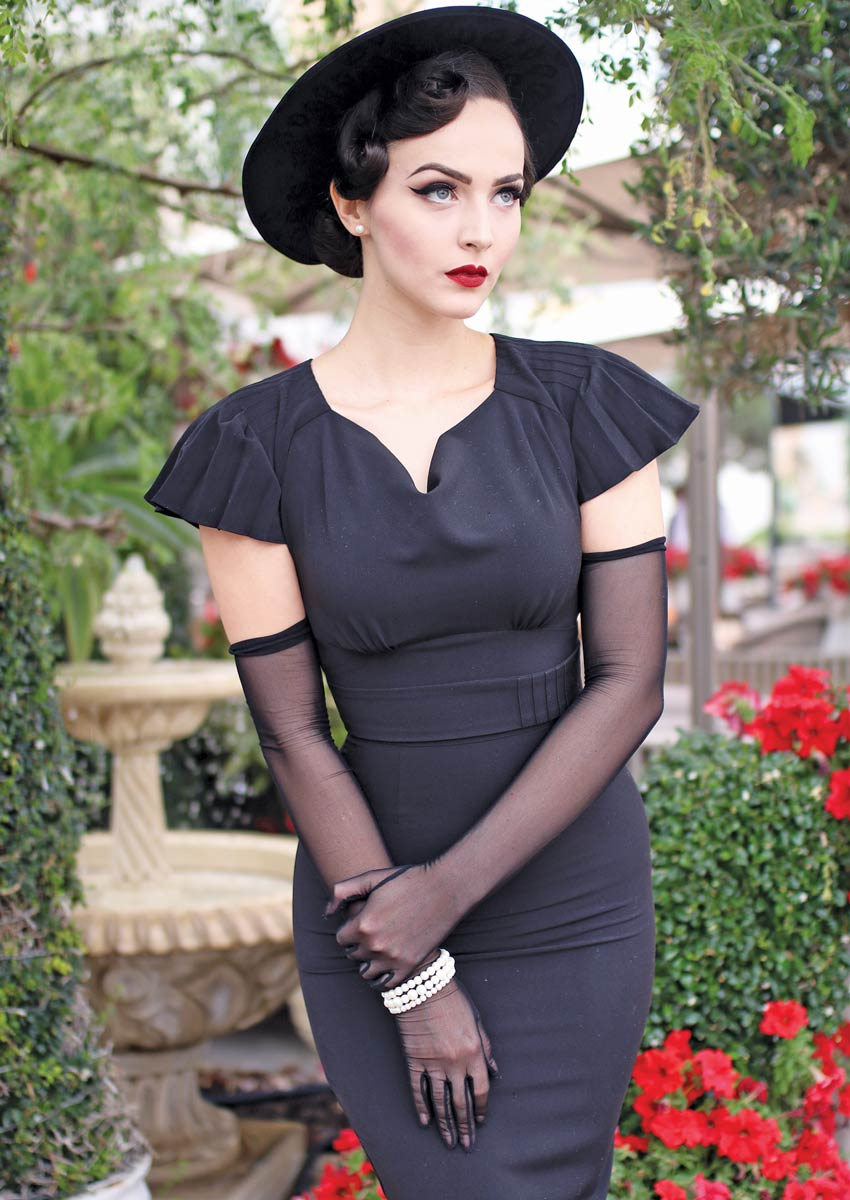 Stop Staring Serenity Dress in Black Idda Van Munster
